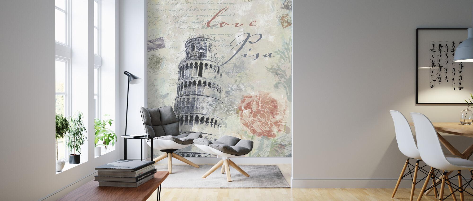 love pisa fototapete nach ma photowall. Black Bedroom Furniture Sets. Home Design Ideas