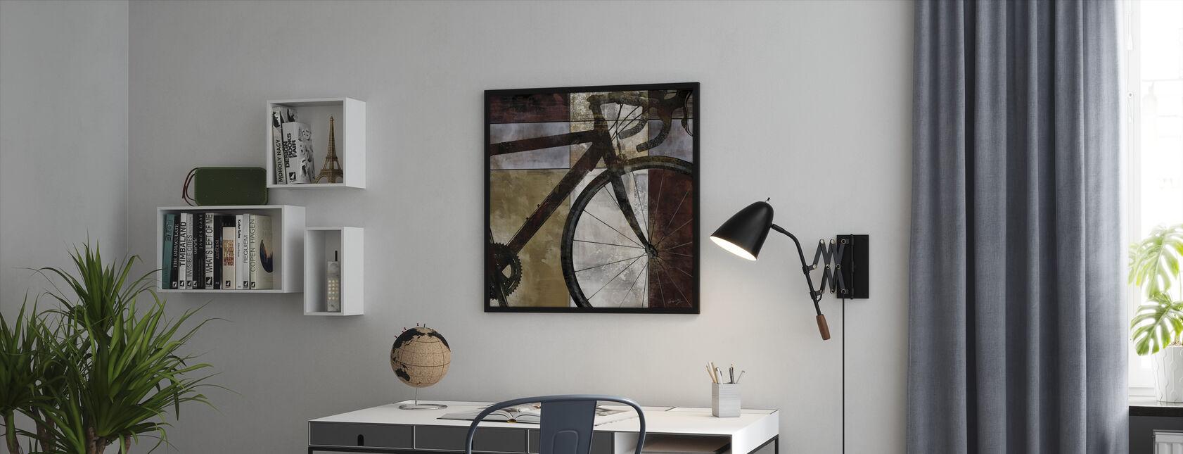 Bike Art - Ingelijste print - Kantoor