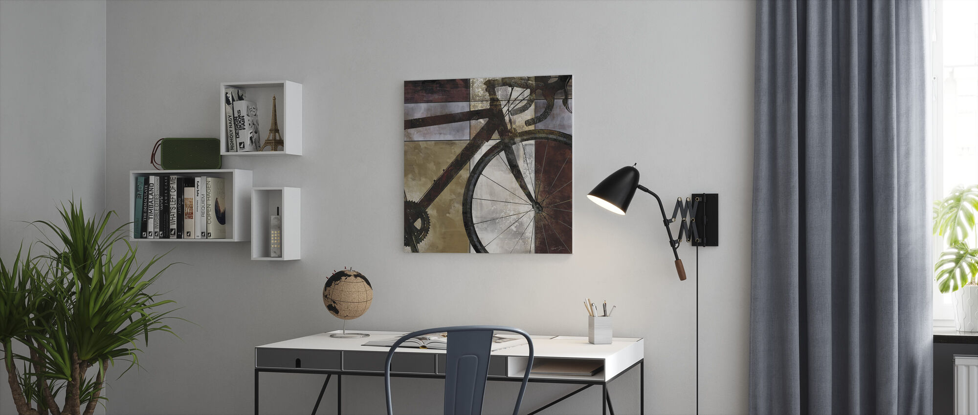 Bike Art - Canvas print - Kantoor