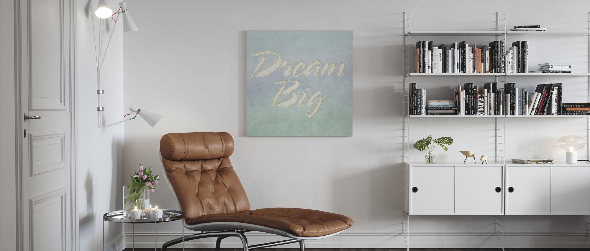 Droom Groot - Canvas print - Woonkamer