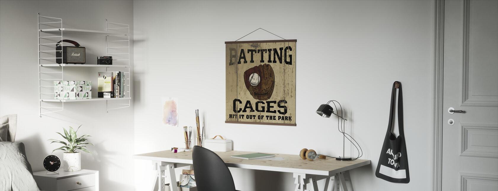 Batting bure - Plakat - Kontor