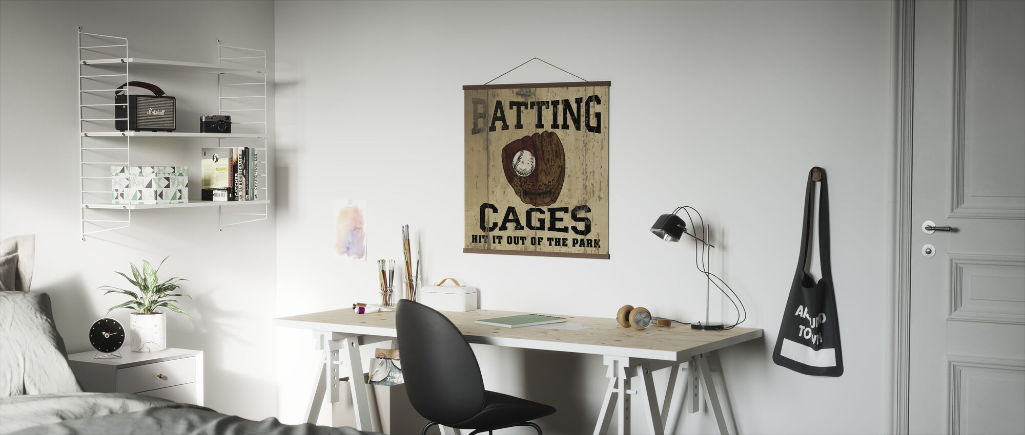 Batting Cages - Poster - Office