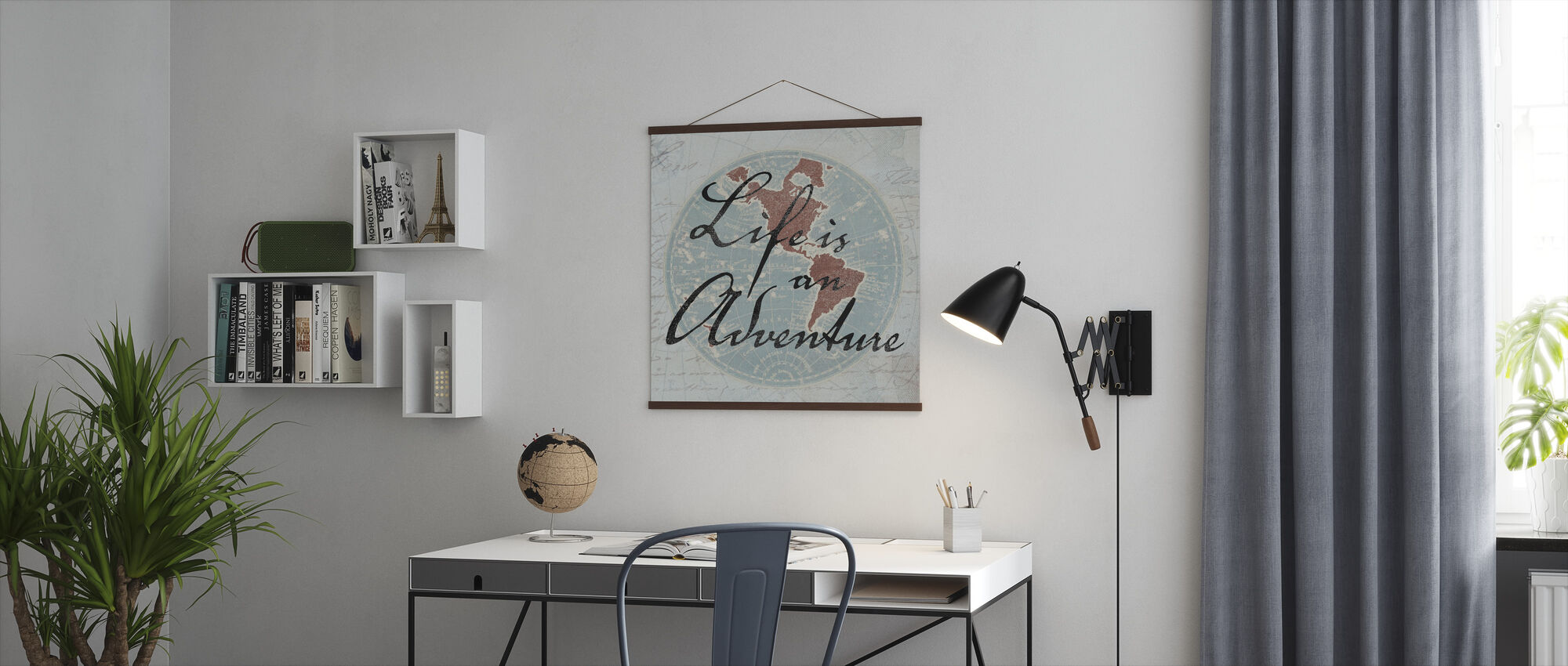 Livet er et eventyr - Plakat - Kontor