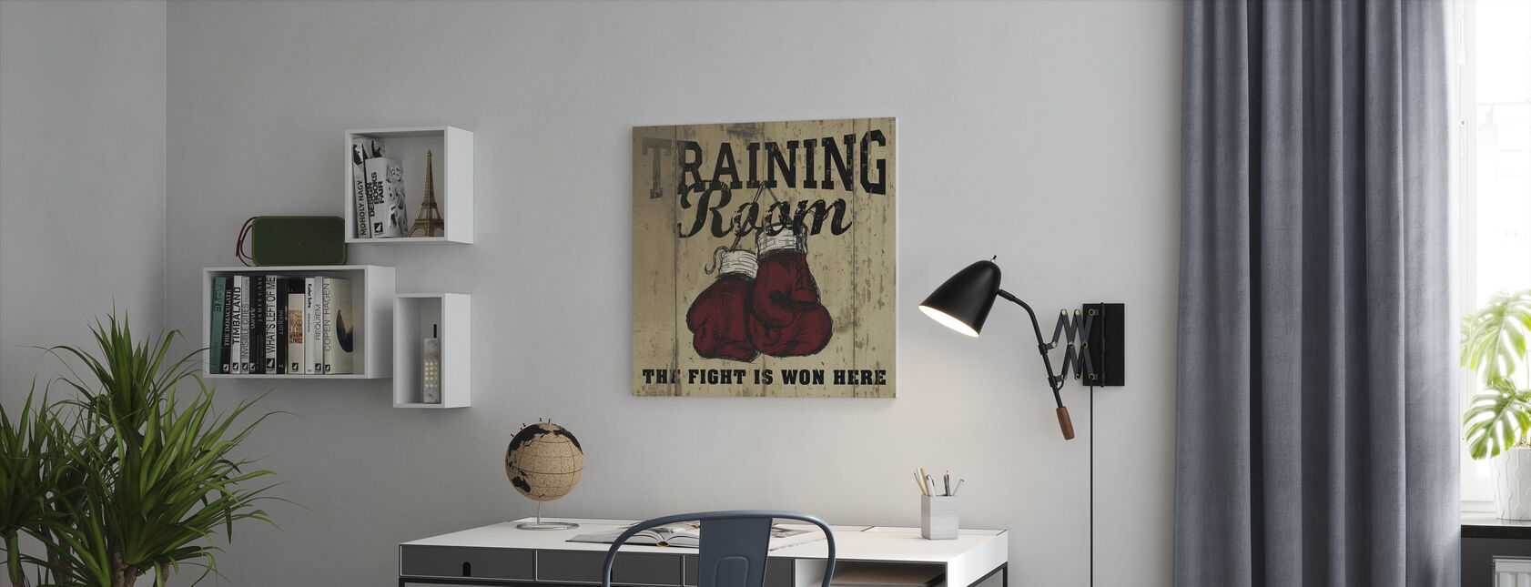 Training Room - Canvas print - Office