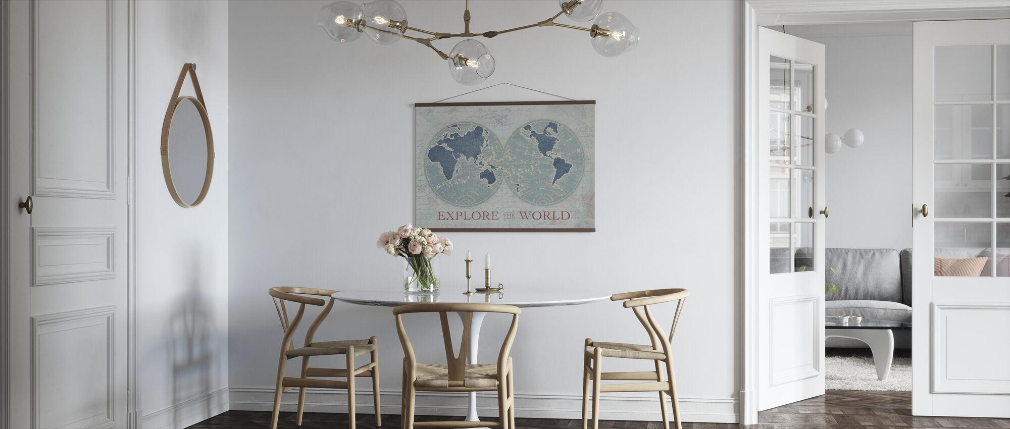 Udforsk verden 2 - Plakat - Køkken