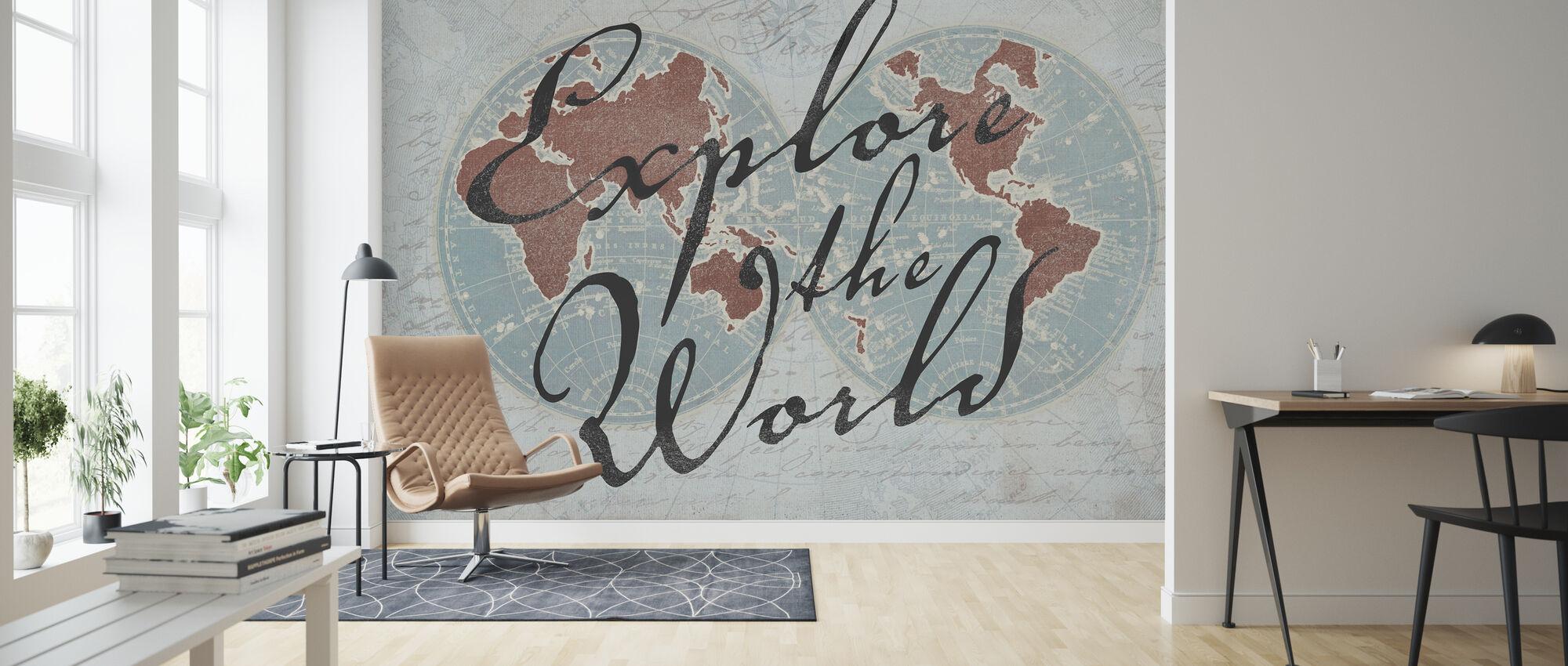 Utforska världen 3 - Tapet - Vardagsrum
