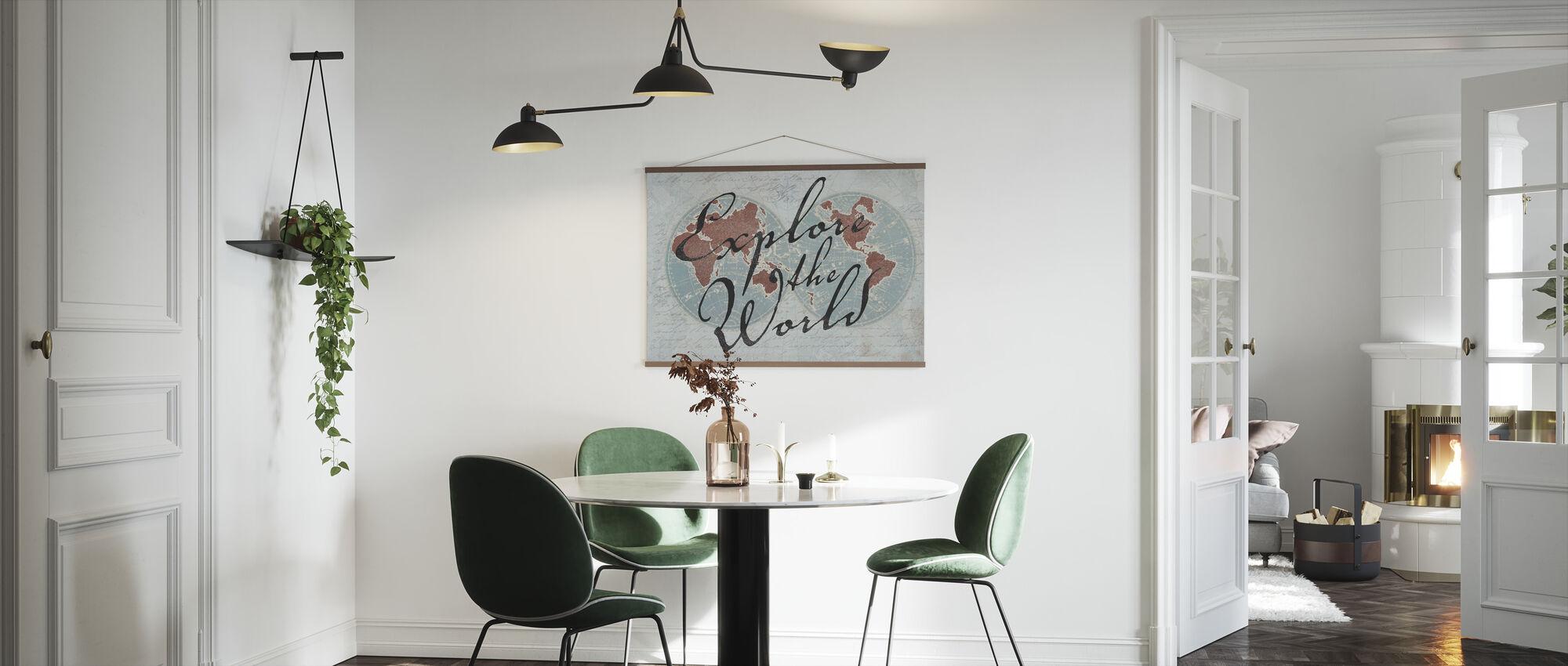 Explore the World 3 - Poster - Kitchen