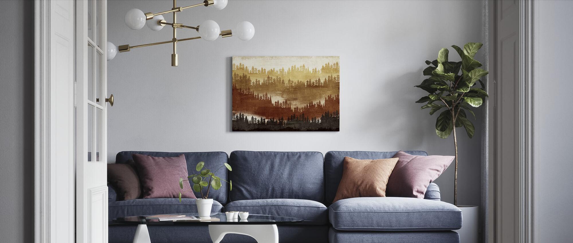 Fjelllandskap Spice - Lerretsbilde - Stue
