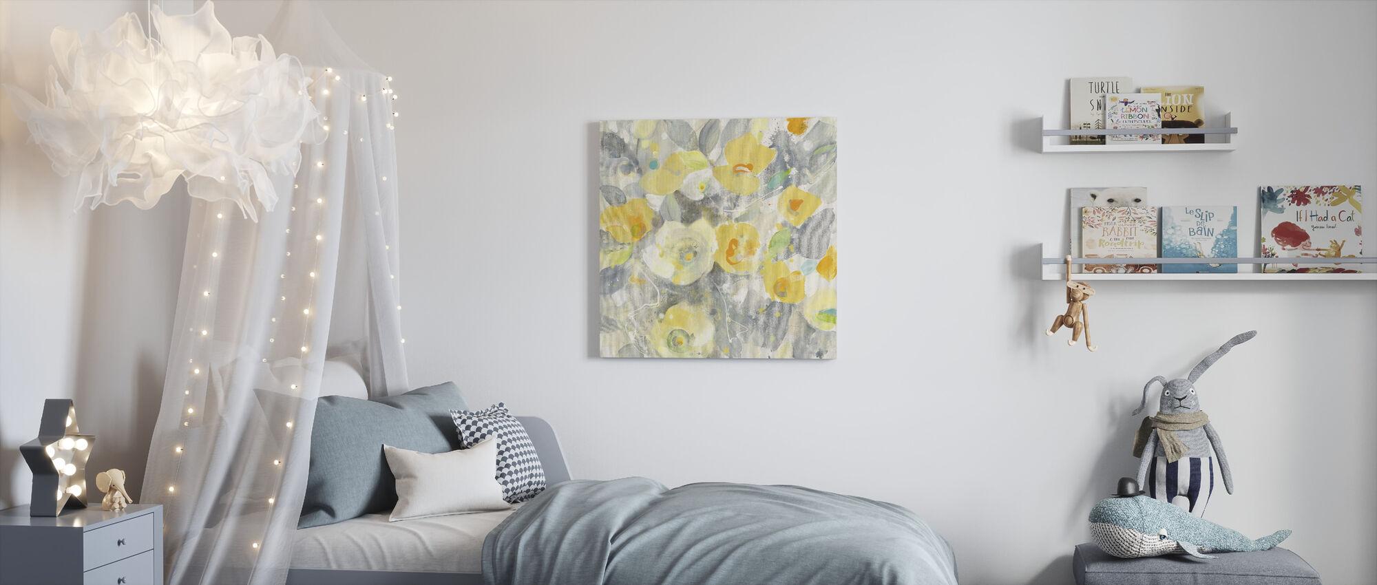 Buttercups II - Canvas print - Kids Room