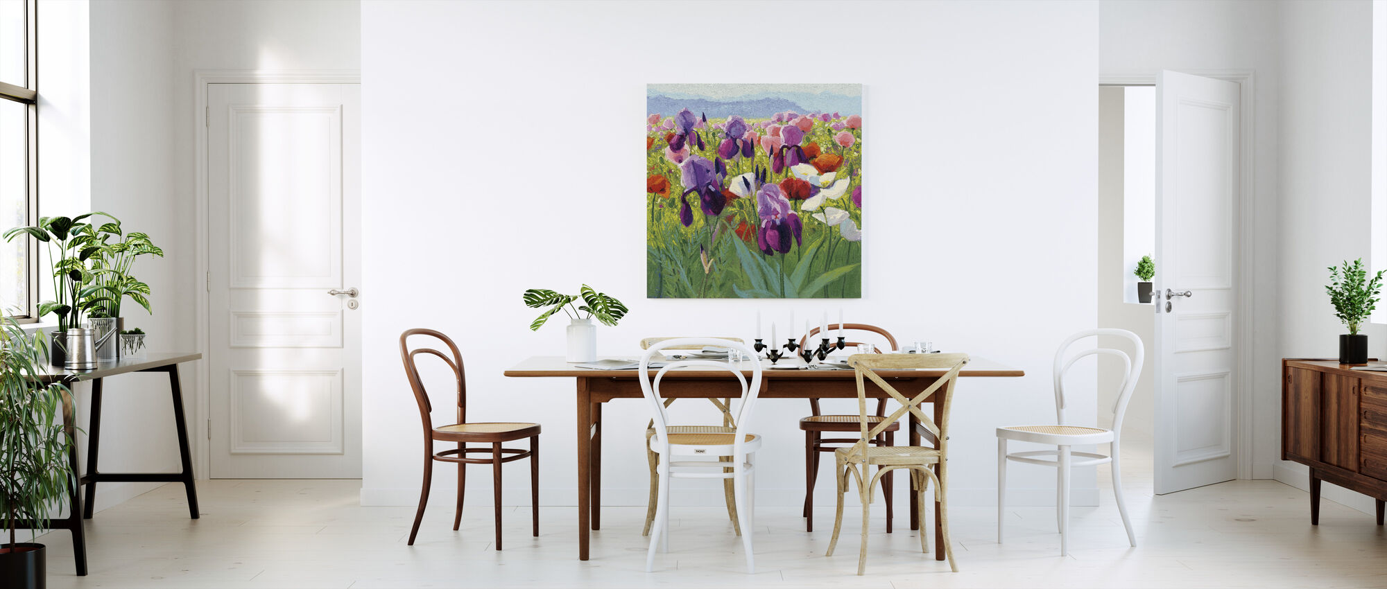 Early June - Canvas print - Kitchen