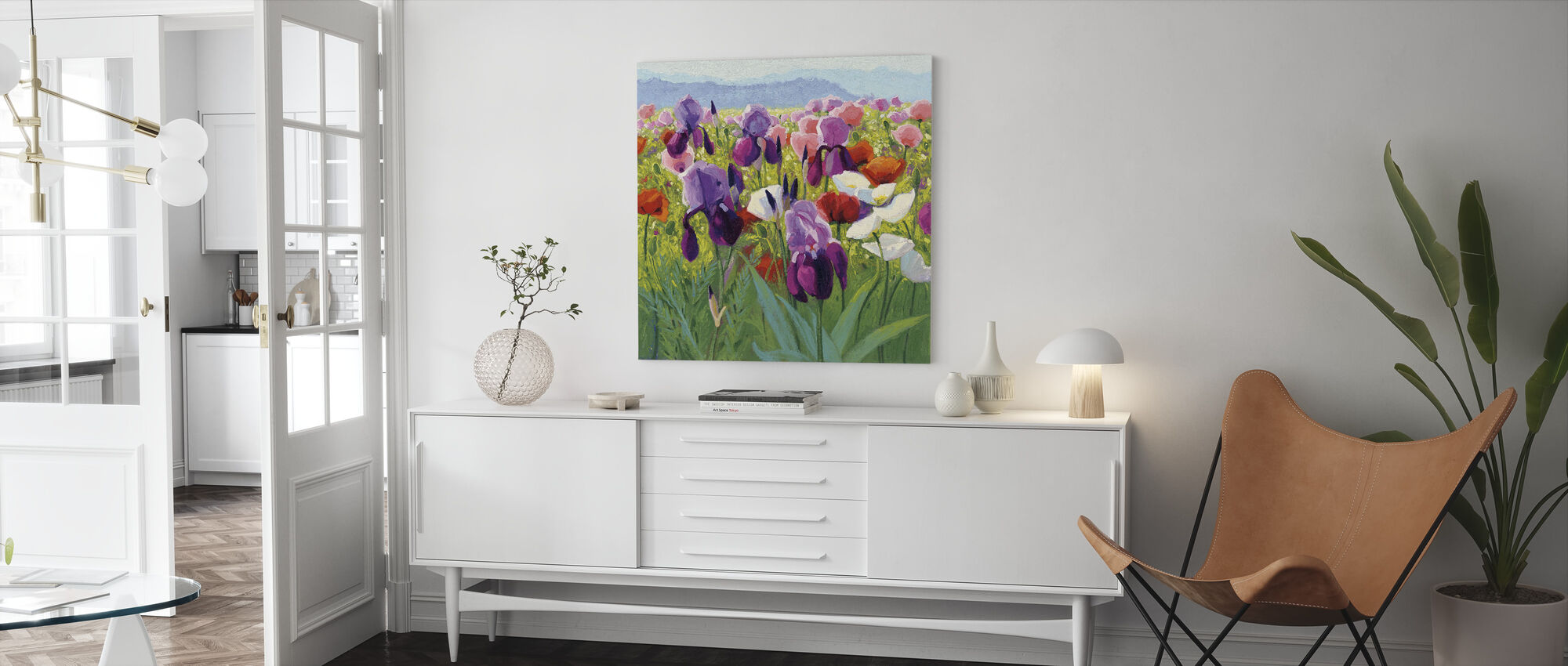 Early June - Canvas print - Living Room