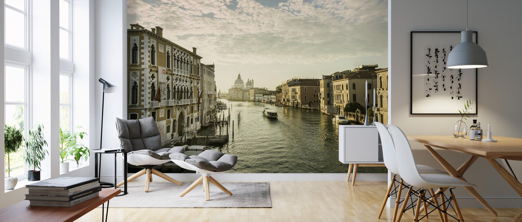 sunny venice preiswerte fototapete photowall. Black Bedroom Furniture Sets. Home Design Ideas