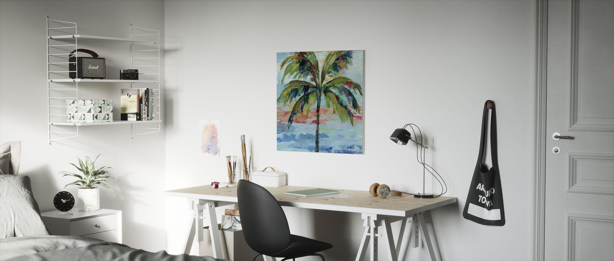 Kalifornia Palm I - Canvastaulu - Lastenhuone