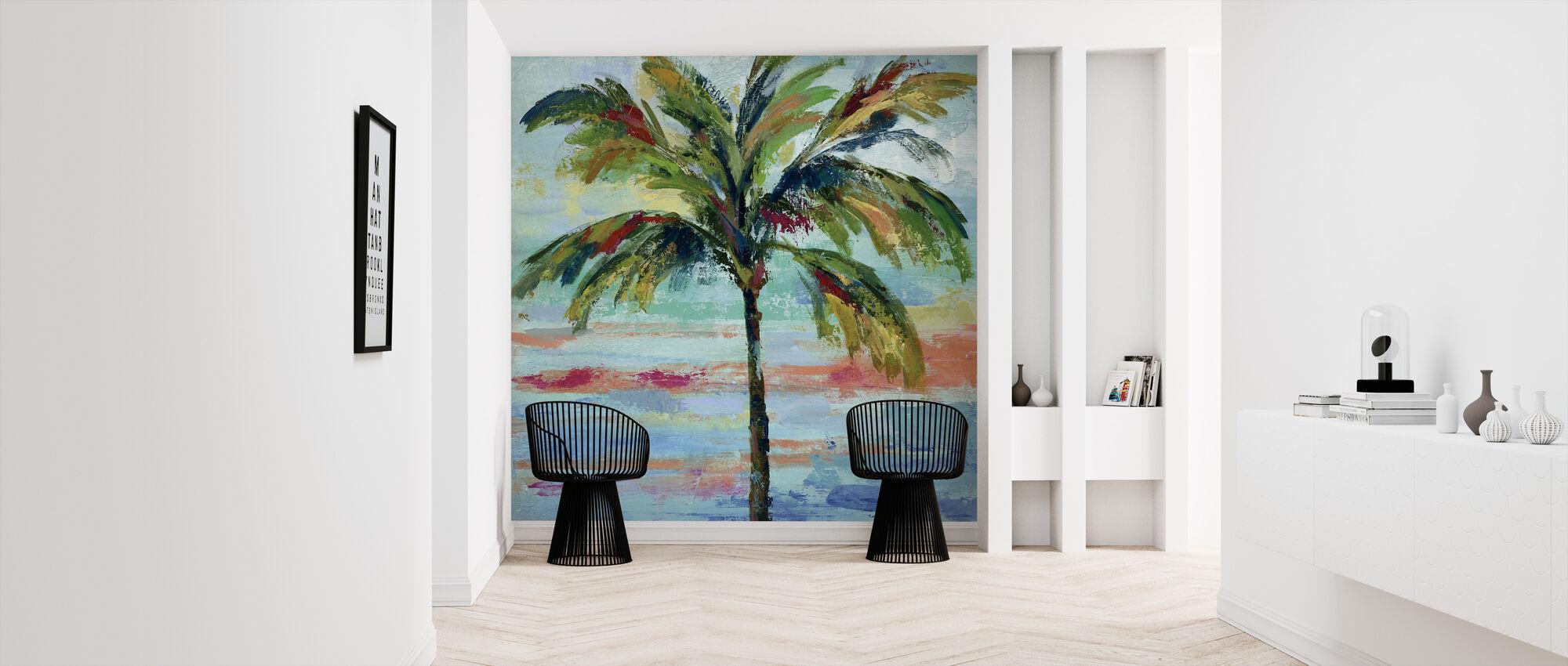 California Palm II - Wallpaper - Hallway