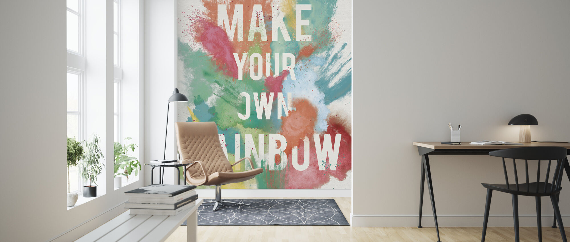 Make Your Own Rainbow - Wallpaper - Living Room