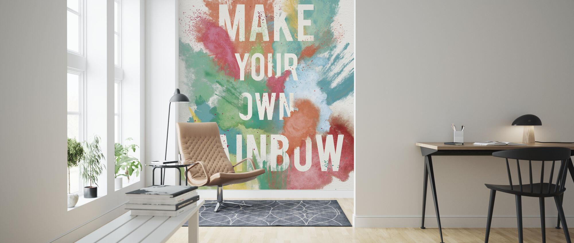 Lag din egen regnbue - Tapet - Stue