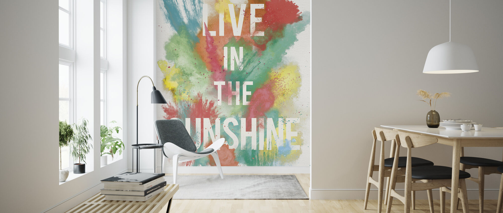 Live in the Sunshine - Wallpaper - Living Room