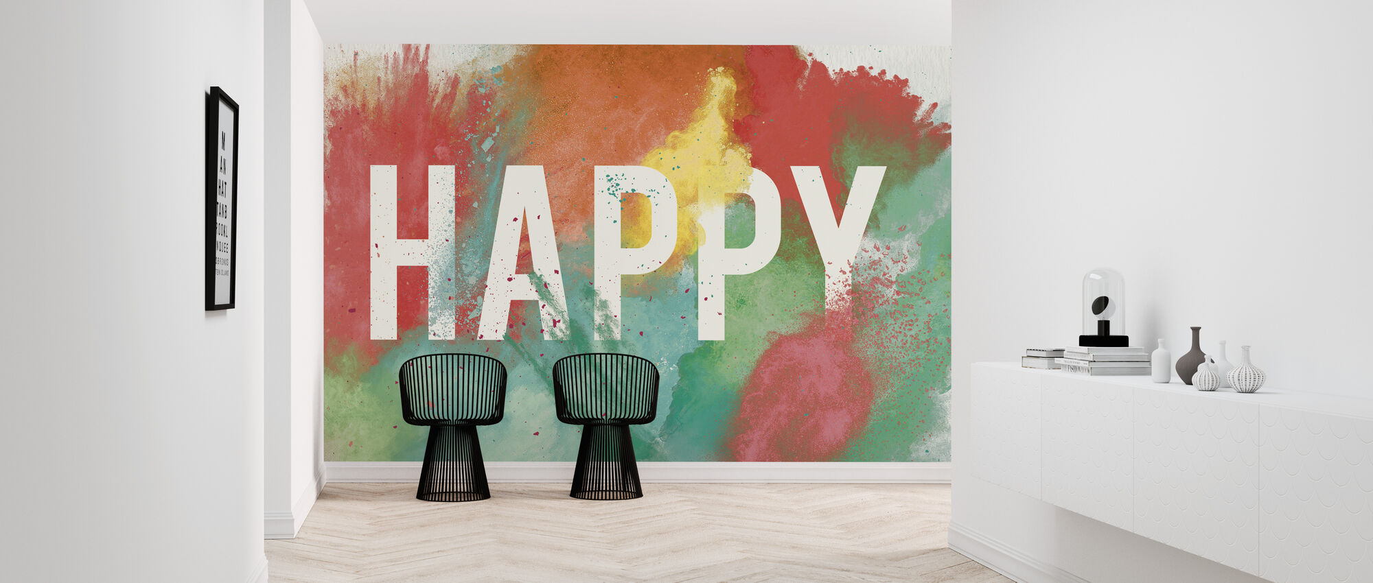 Seien Sie glücklich - Tapete - Flur