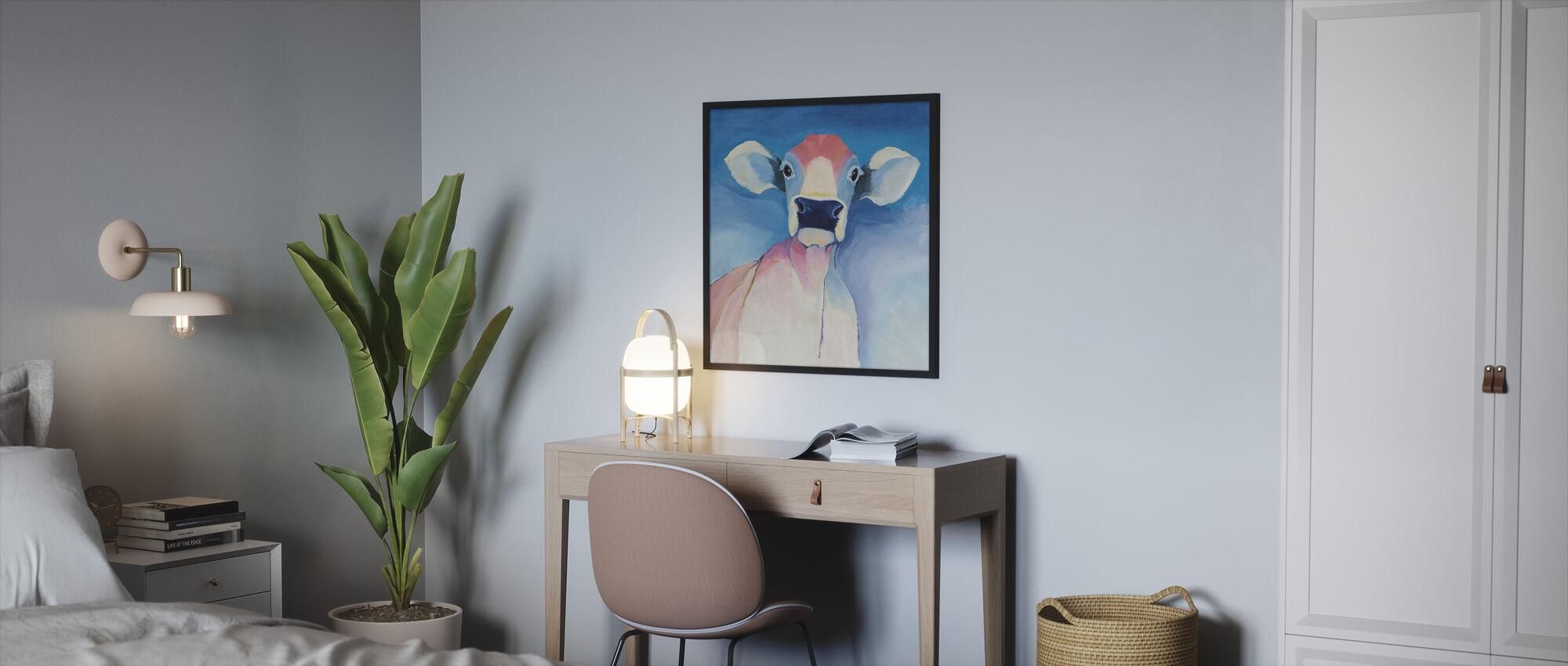 Bella Blue - Framed print - Bedroom