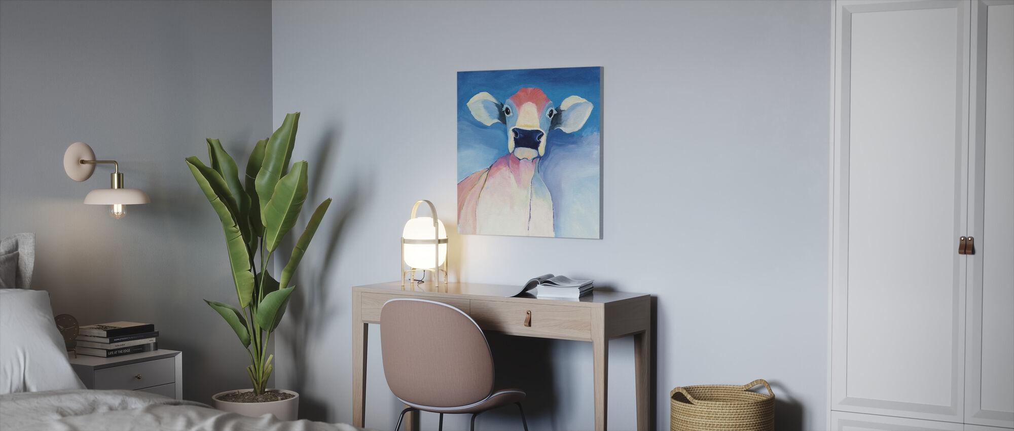Bella Blå - Canvastavla - Kontor