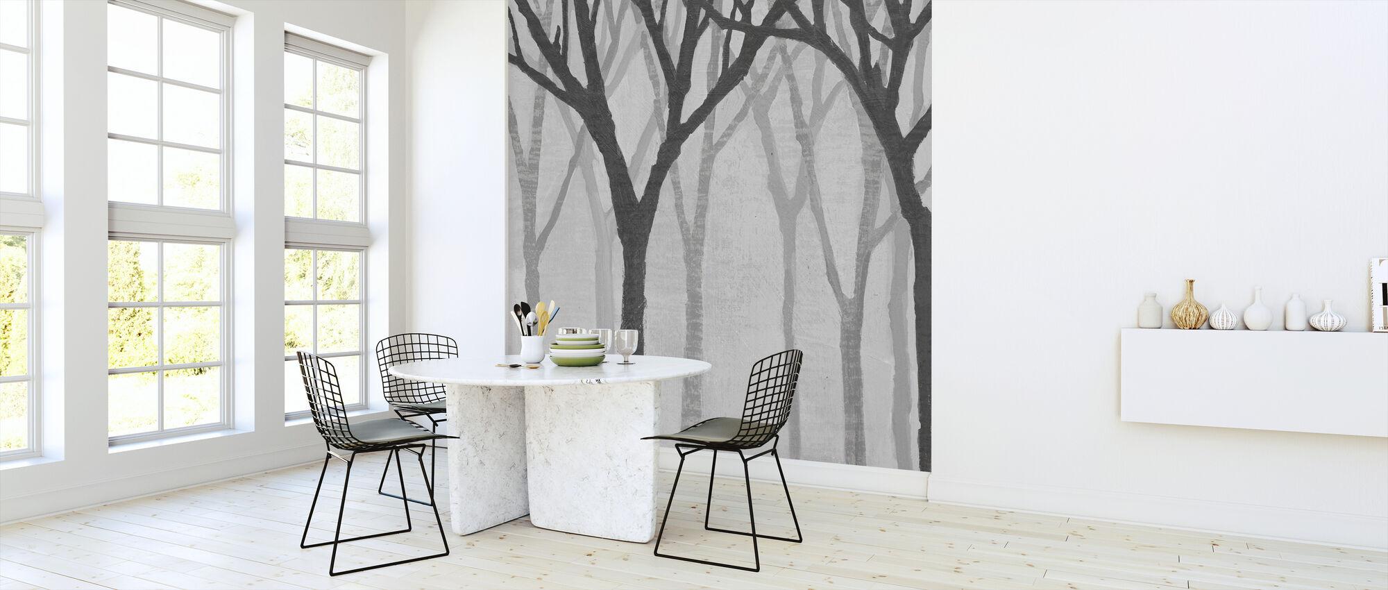Spring Trees Greystone - Wallpaper - Kitchen