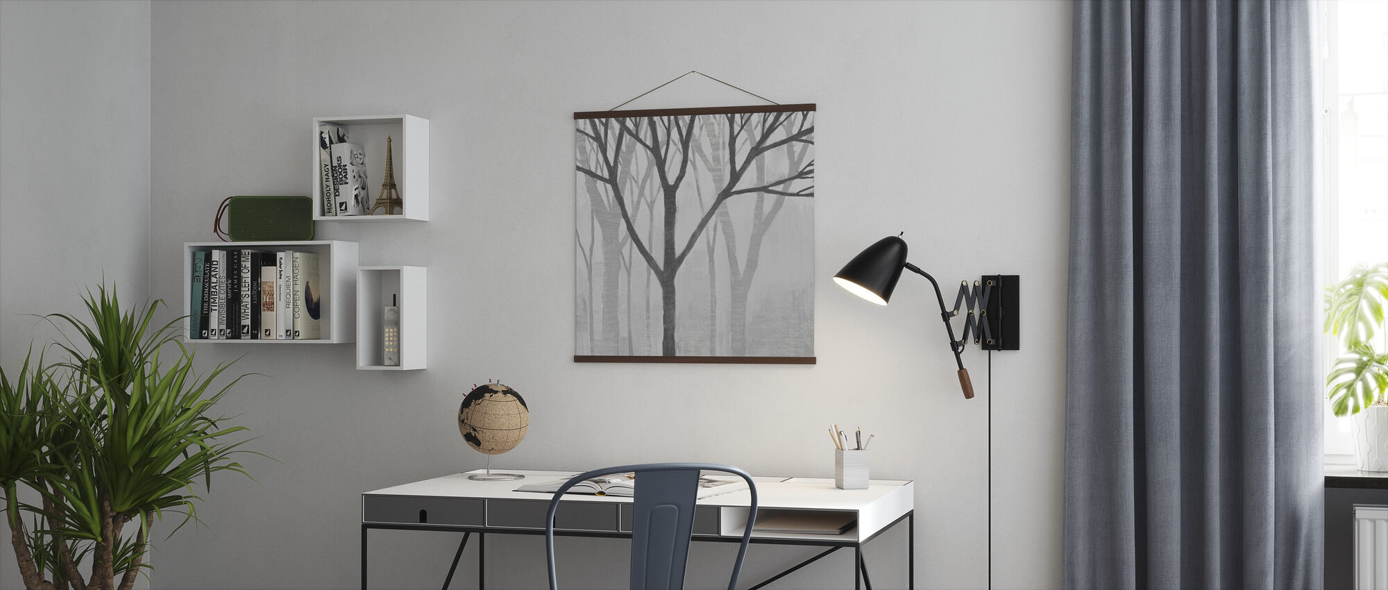 Spring Trees Greystone II - Poster - Office