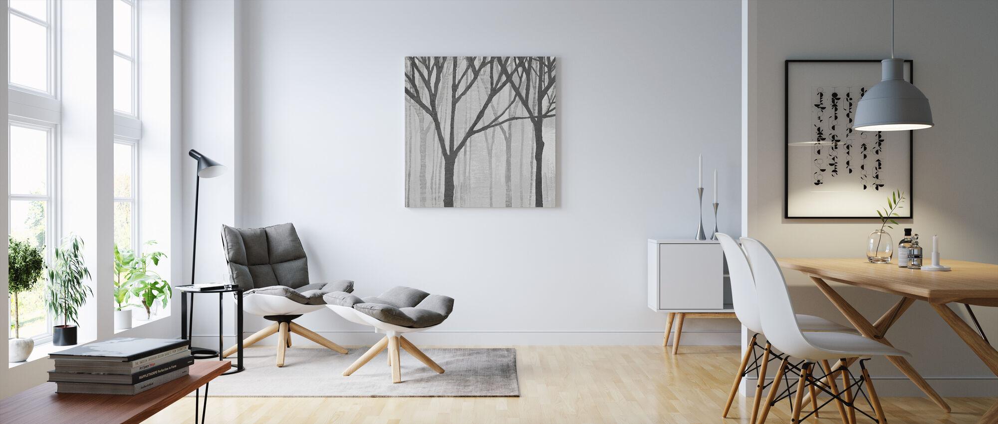 Kevät puut Greystone III - Canvastaulu - Olohuone