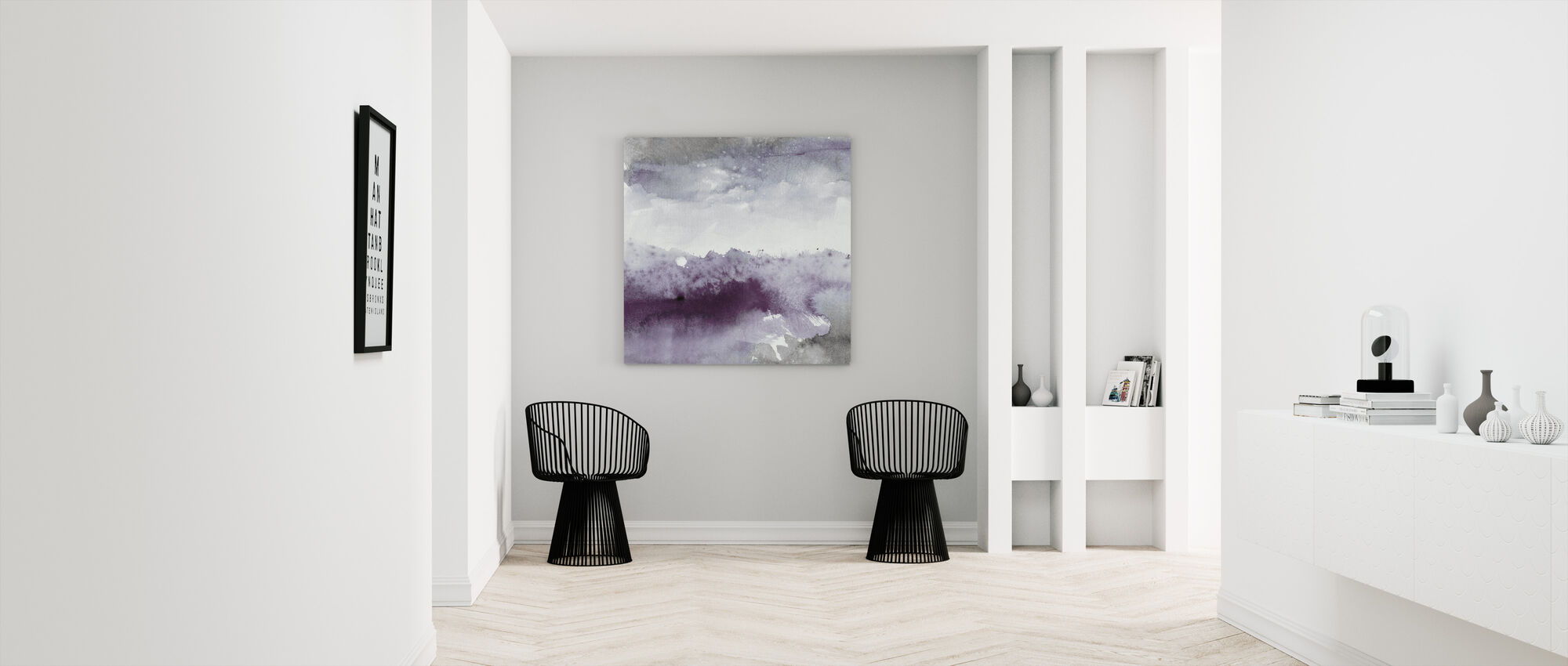 Midnight at the Lake II - Canvas print - Hallway