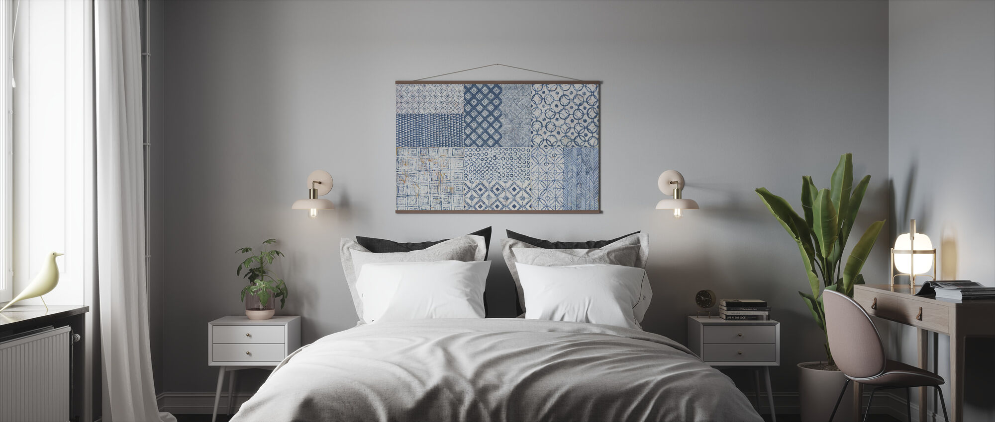 Maki Tile XVII - Poster - Bedroom