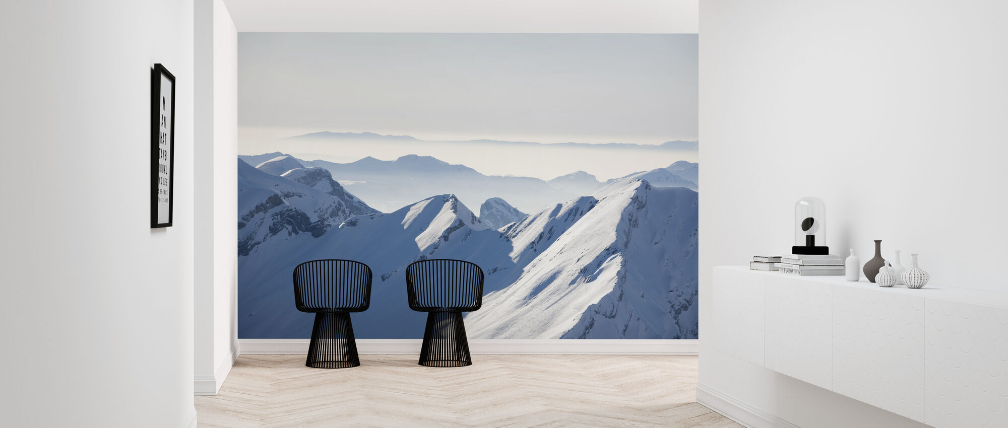 Chamonix Alps I, France - Wallpaper - Hallway