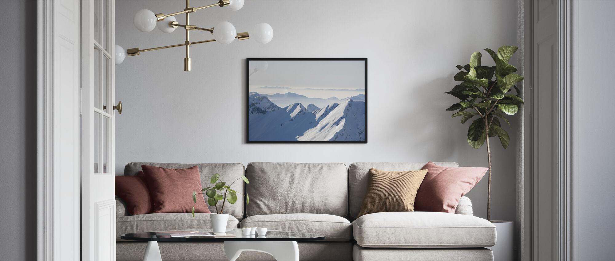 Chamonix Alps I, France - Framed print - Living Room