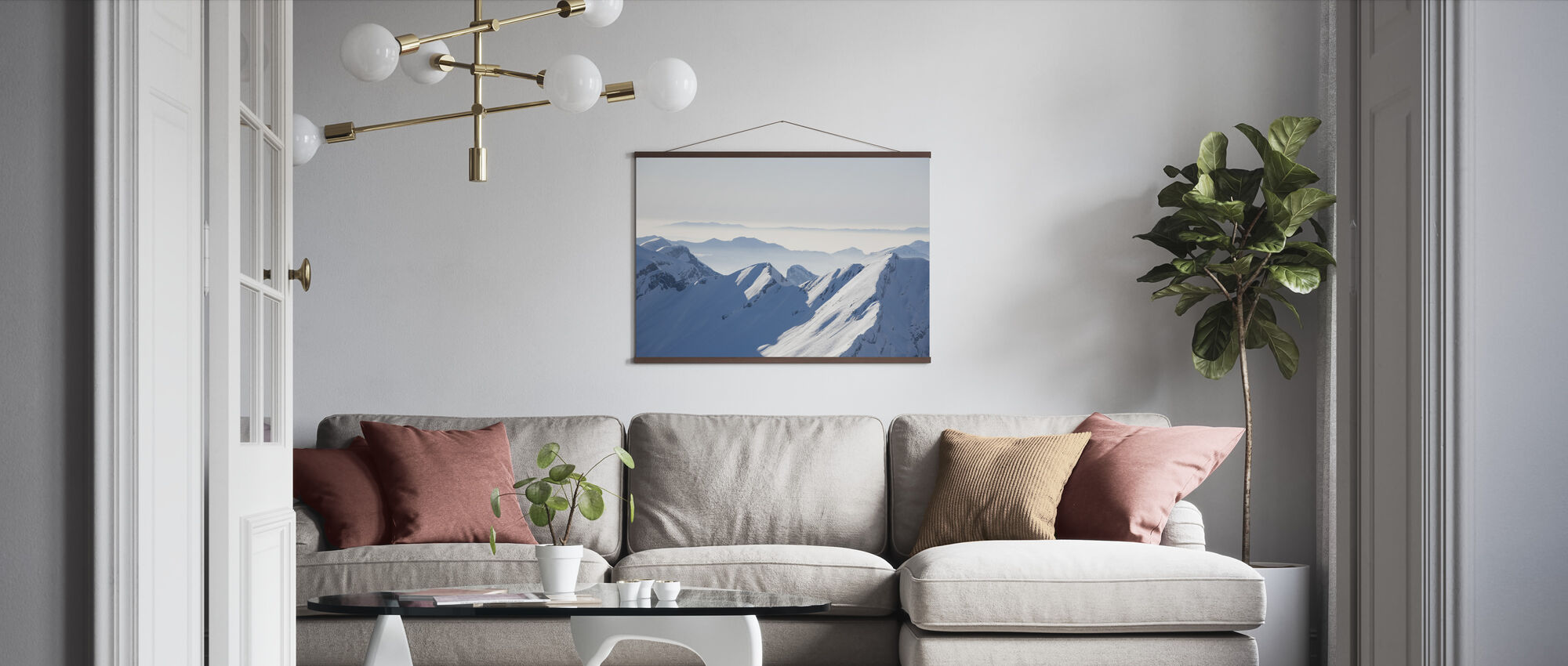 Chamonix Alps I, France - Poster - Living Room
