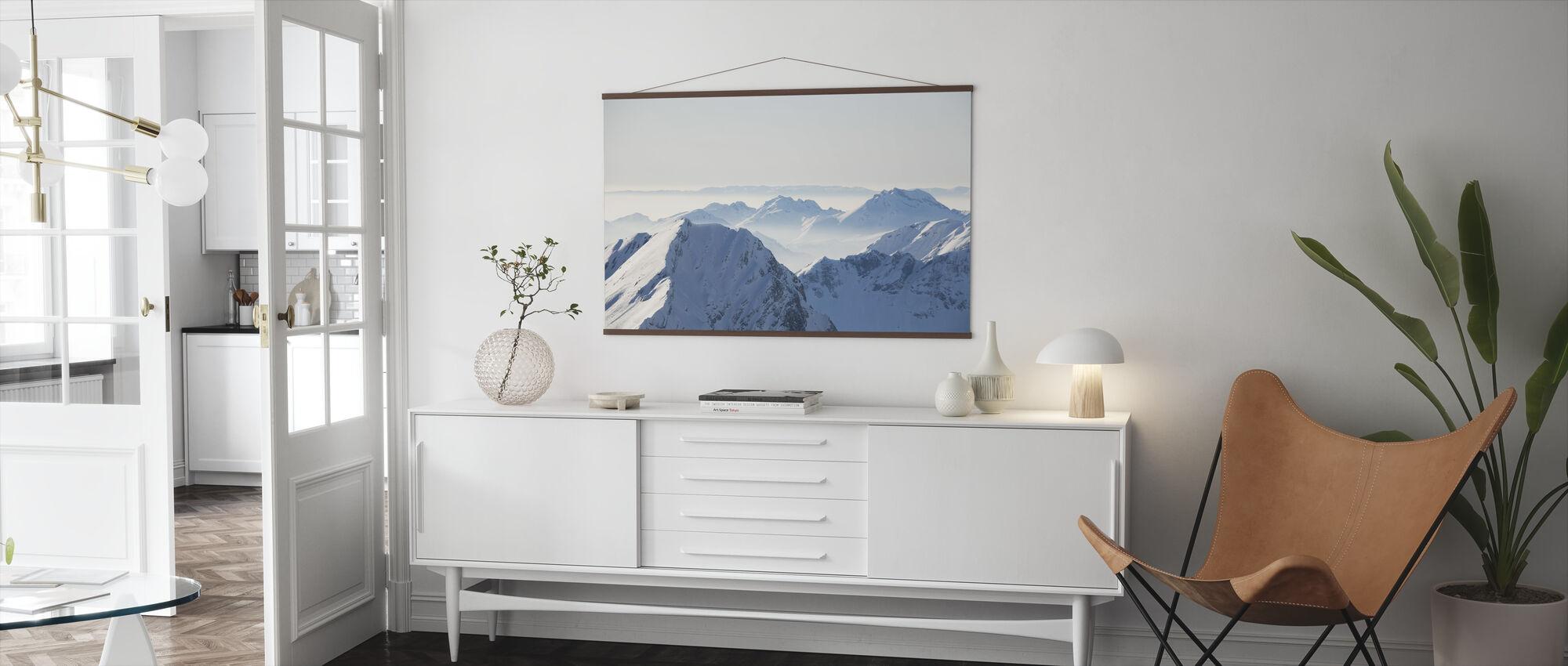 Chamonix Alps II, Frankrike - Poster - Vardagsrum