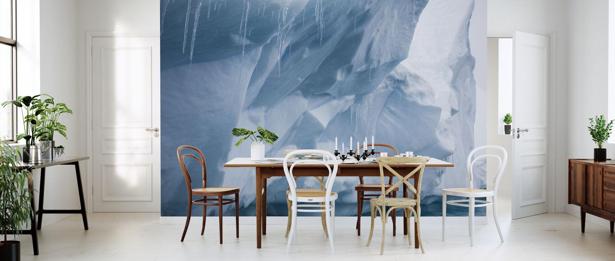 IJspegel in Antarctica - Behang - Keuken