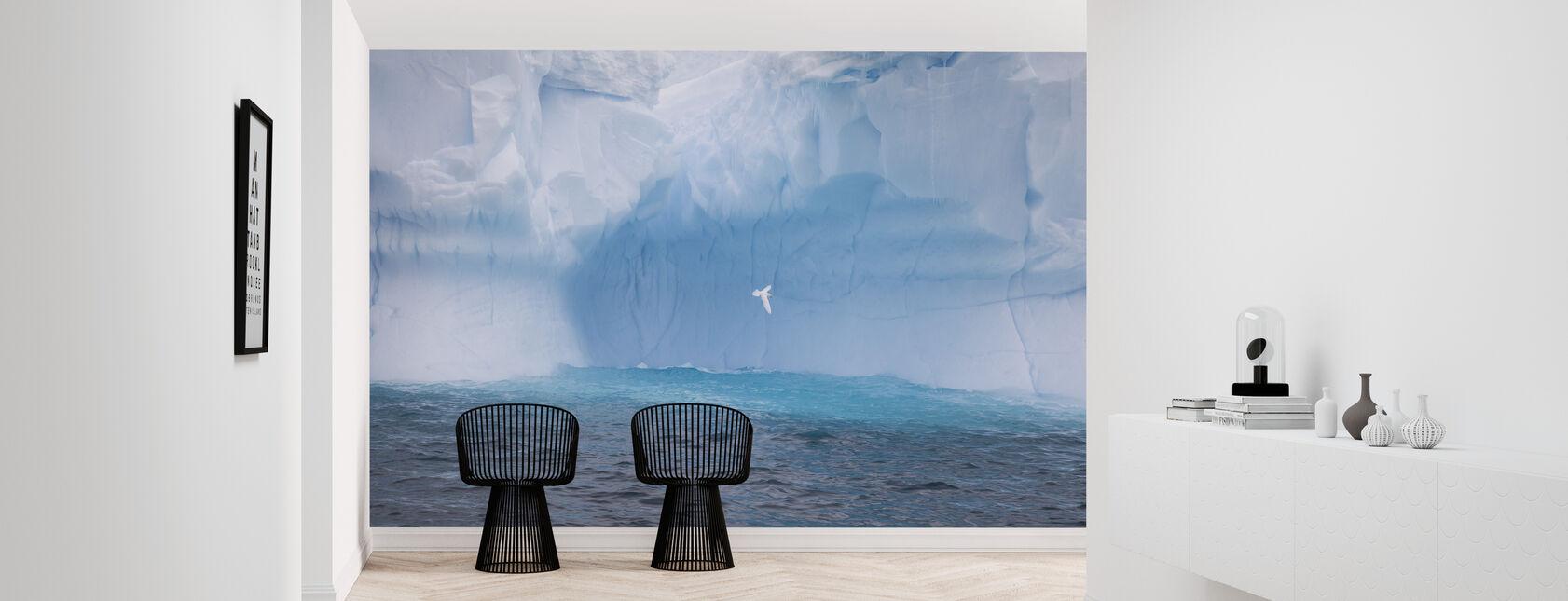 Gletsjer in Antarctica - Behang - Gang