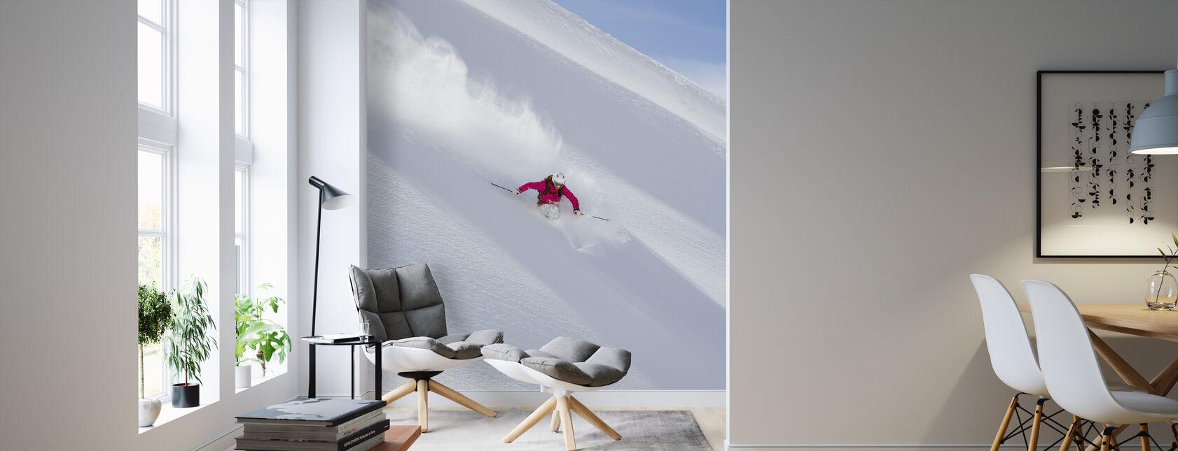 Skiing in Chamonix, France - Wallpaper - Living Room