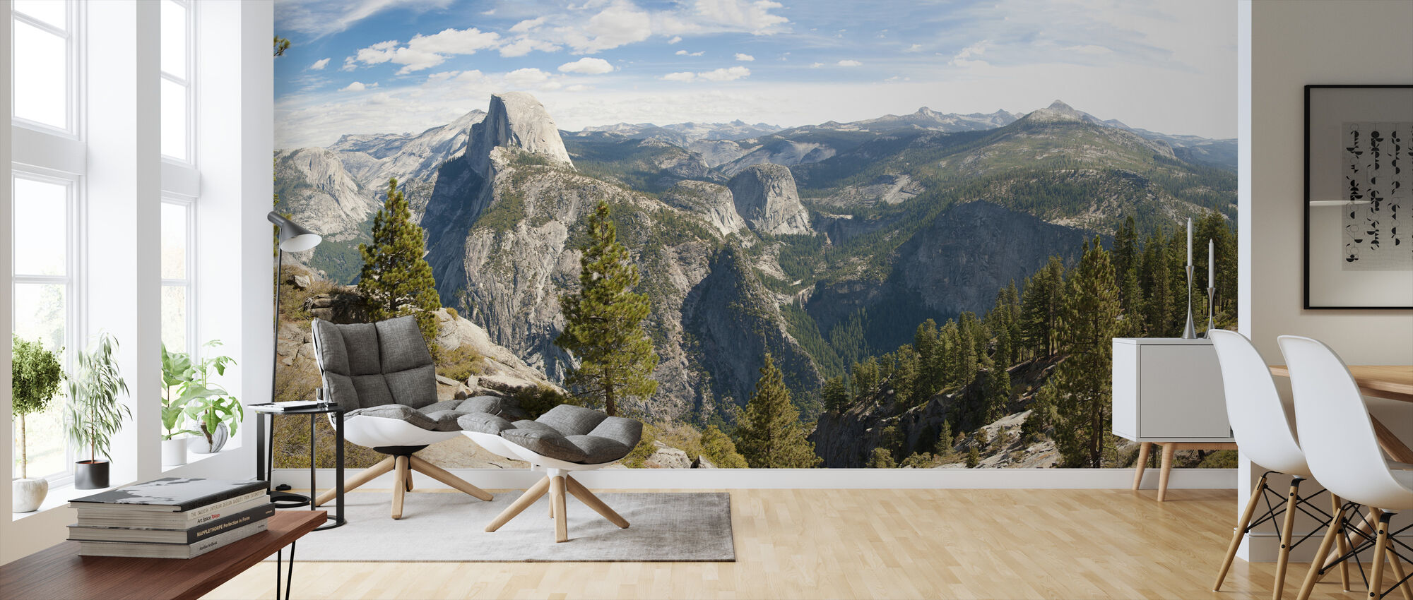 Yosemite park, California - Wallpaper - Living Room