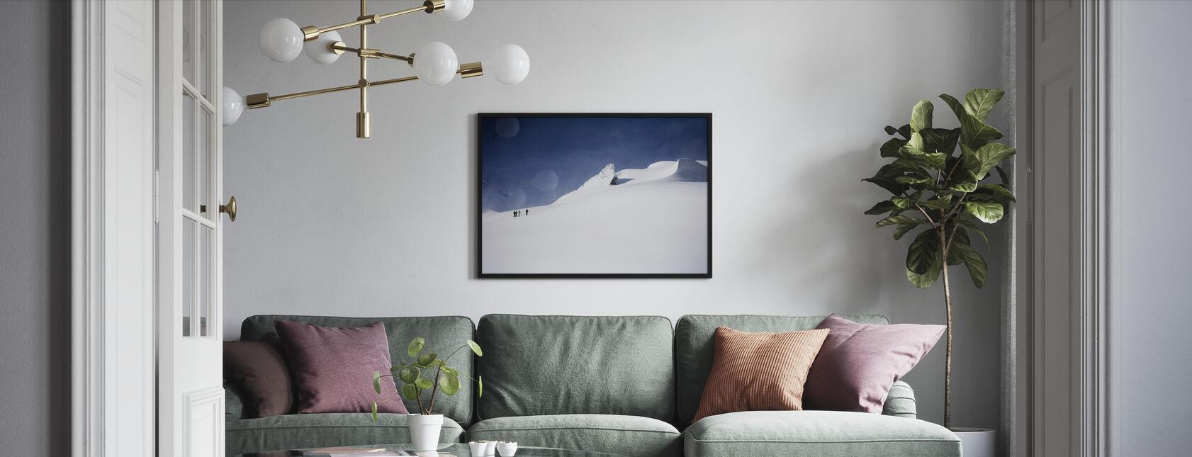 Skifahrer in Kanada - Gerahmtes bild - Wohnzimmer