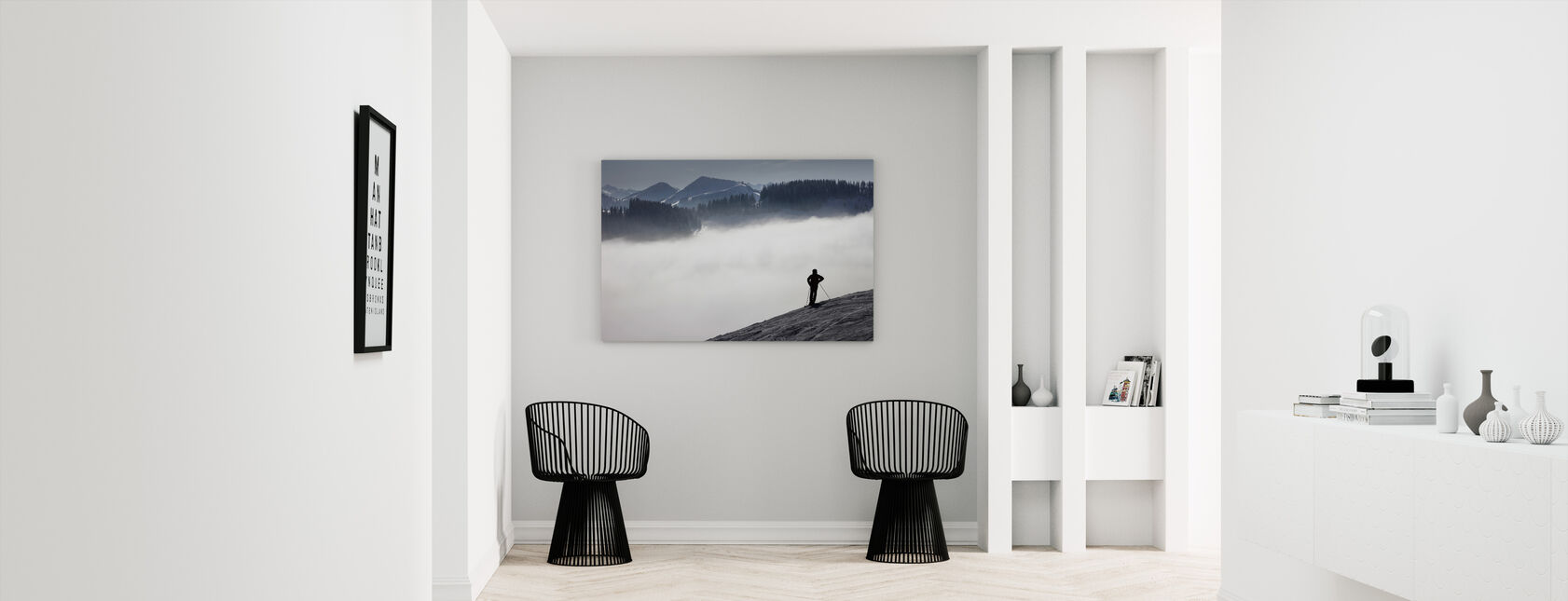 Austrian Alps - Canvas print - Hallway