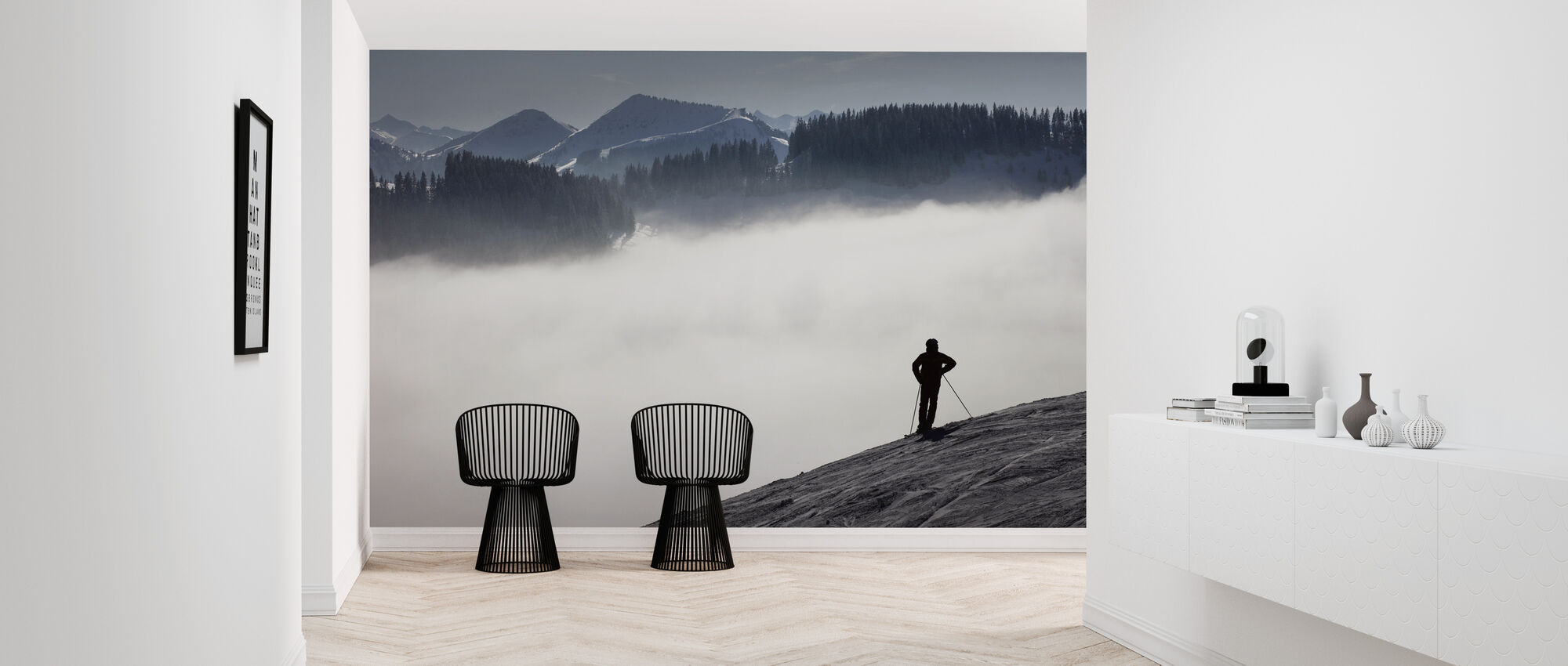 Austrian Alps - Wallpaper - Hallway