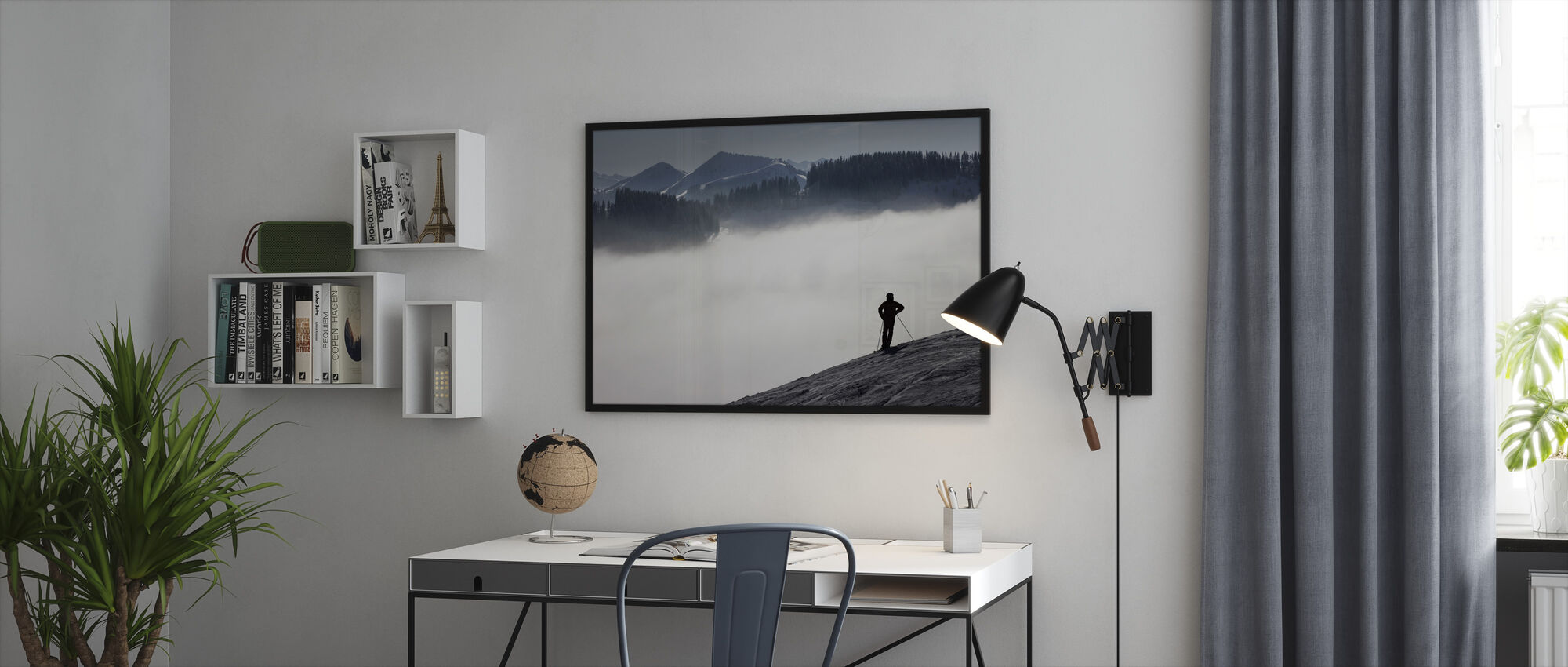 Austrian Alps - Framed print - Office