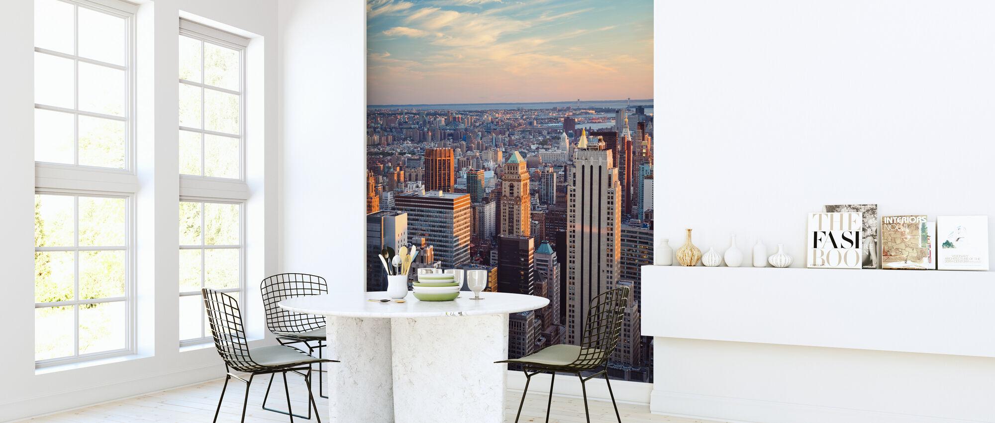 Manhattan och Horisont - Tapet - Kök