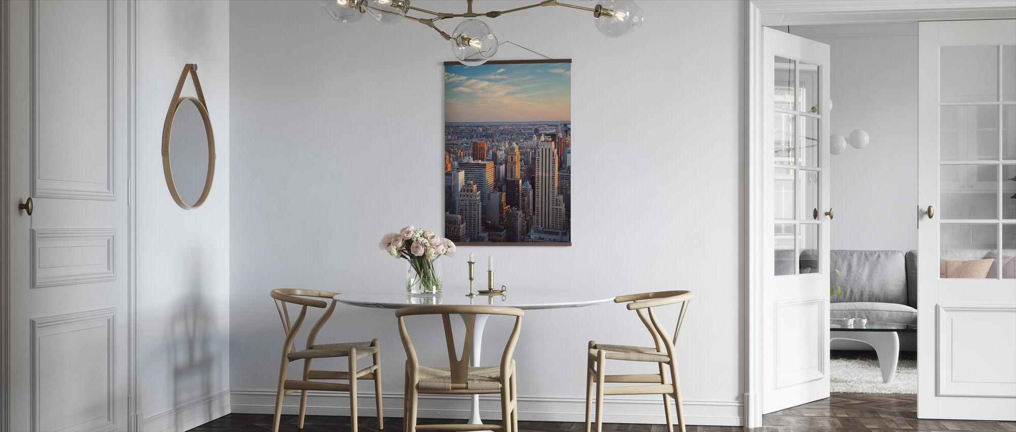 Manhattan ja Horizon - Juliste - Keittiö