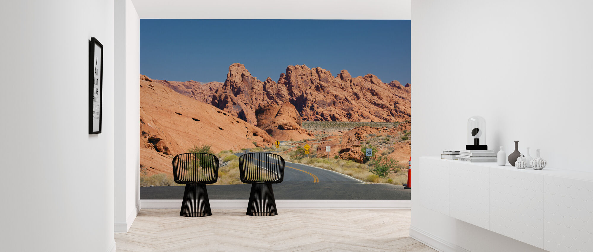 Valley of Fire in Nevada, USA - Wallpaper - Hallway