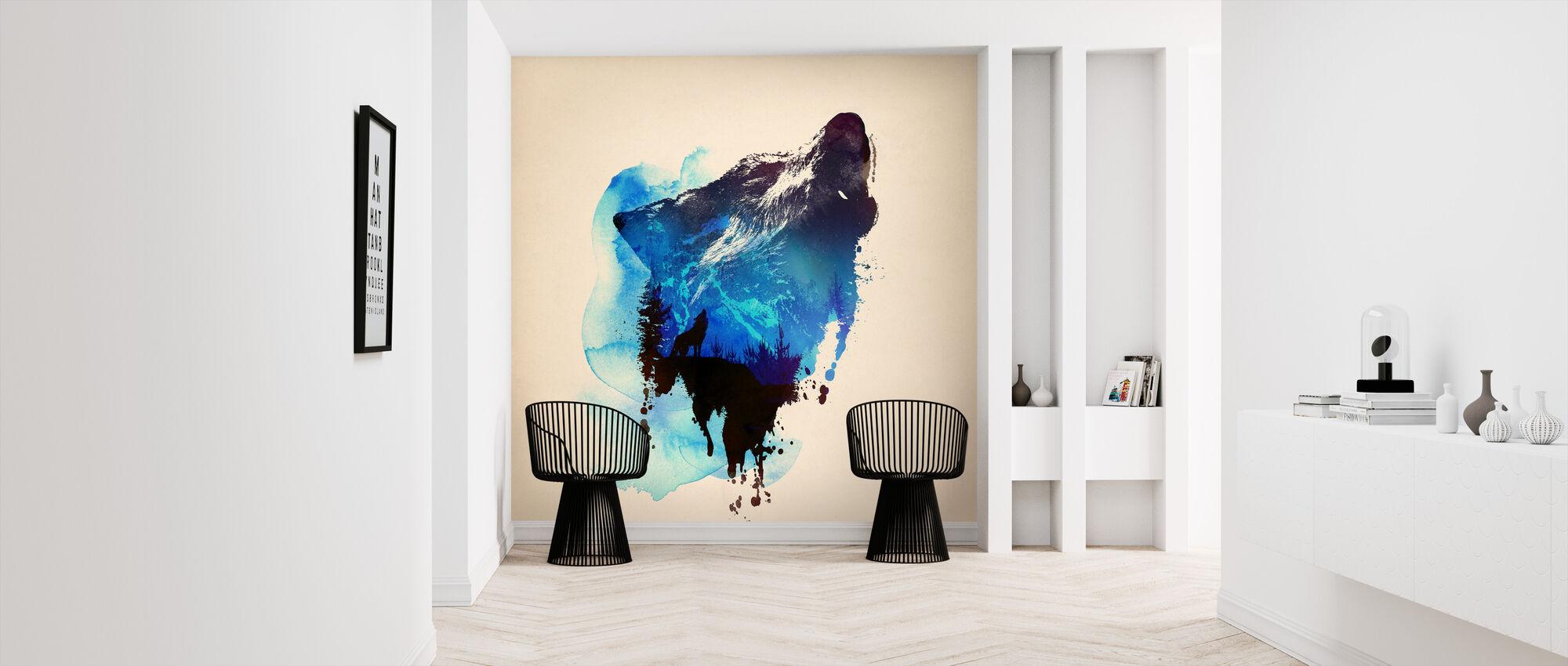 Alone as a Wolf - Wallpaper - Hallway