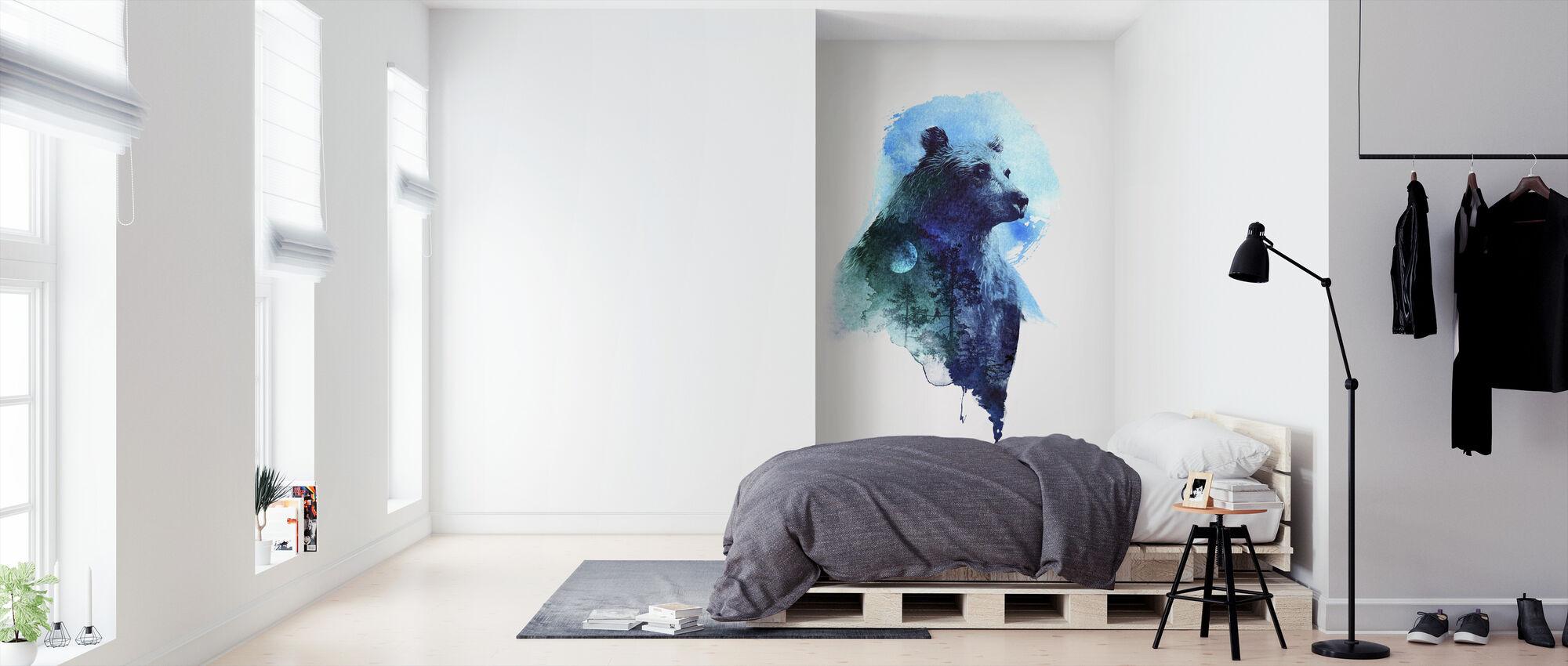 Midnight Bear - Wallpaper - Bedroom