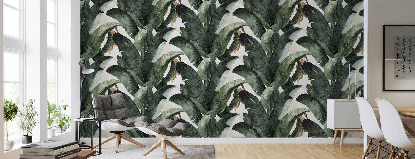 Botany Banana - Wallpaper - Living Room