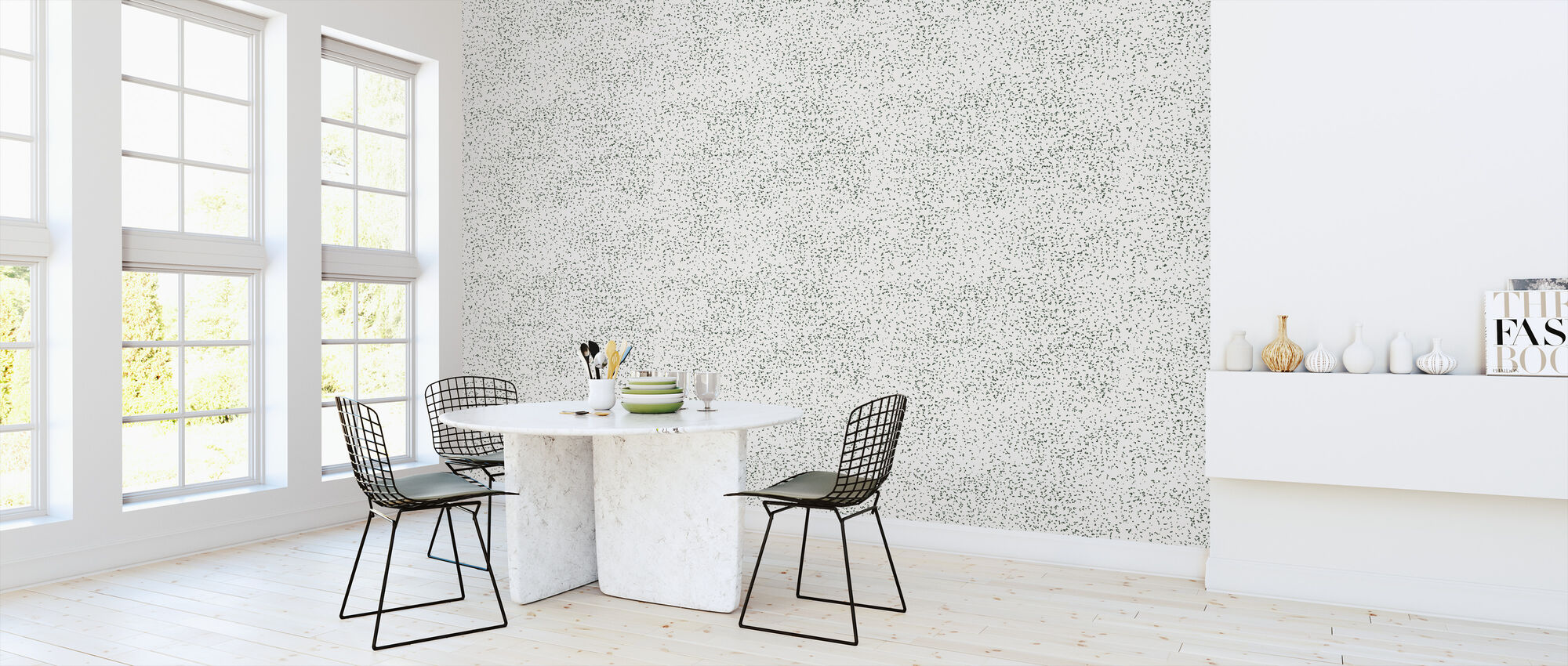Speckle Green - Wallpaper - Kitchen