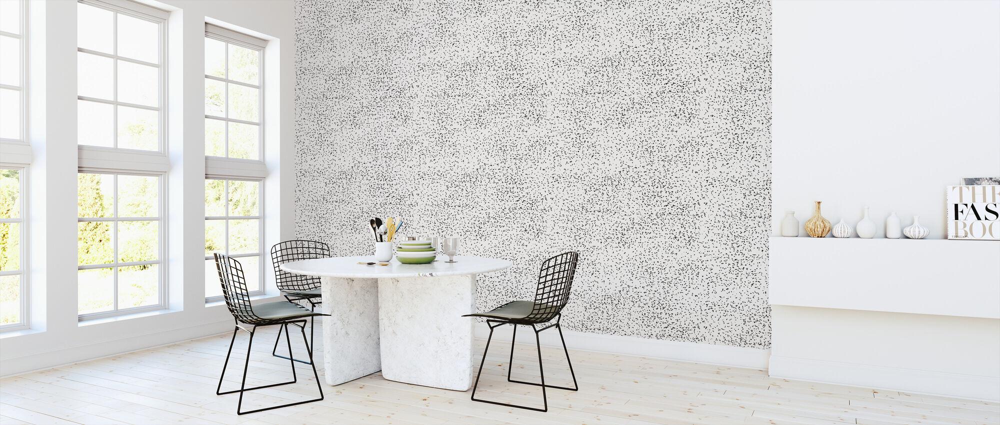 Speckle Black - Wallpaper - Kitchen
