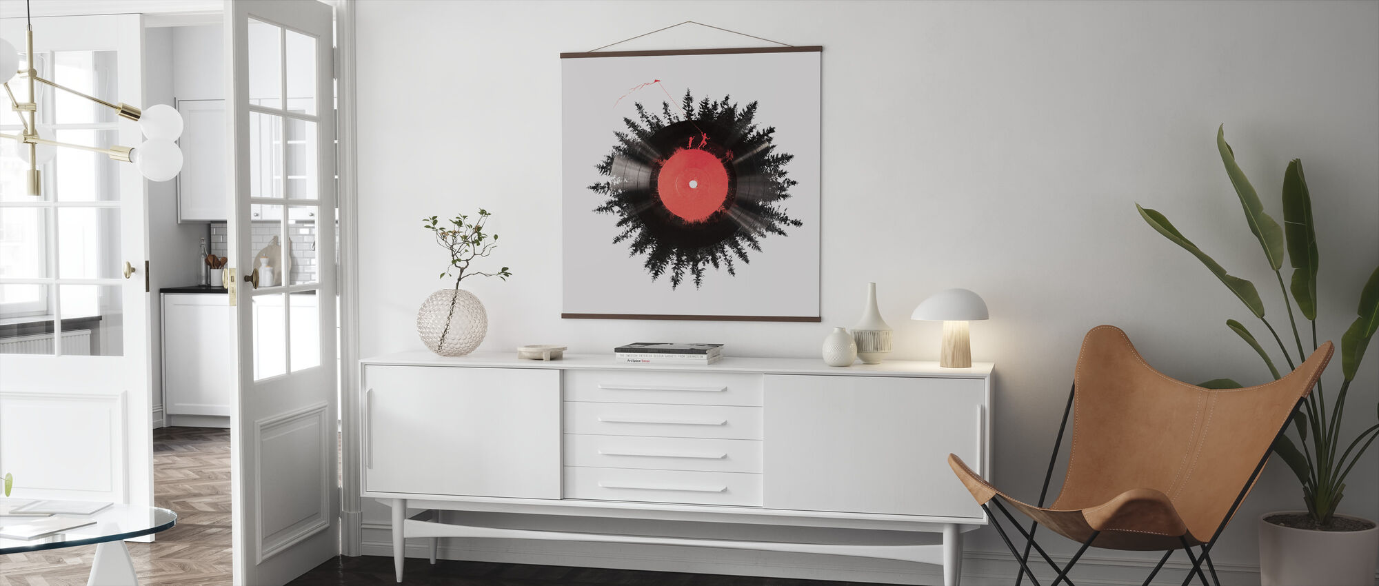 The Vinyl of my Life - Poster - Living Room